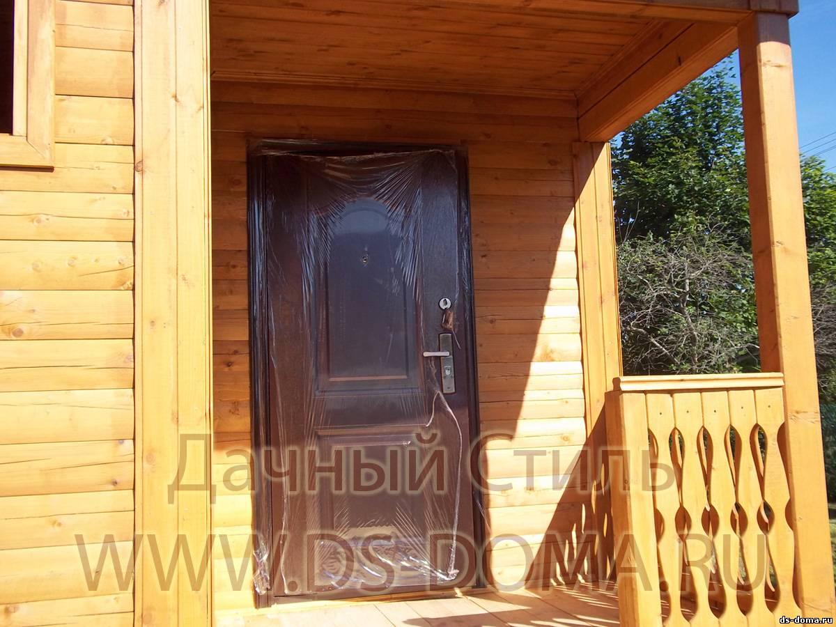 дверь входная для брусового дома