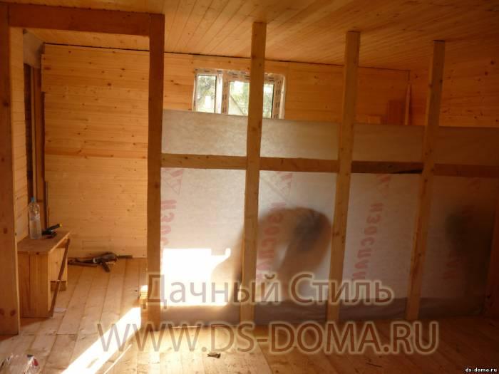 Как сделать перегородку в деревянном доме своими руками