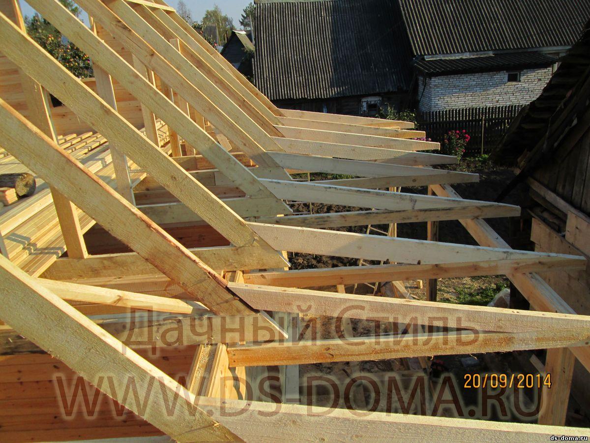 Односкатная крыша своими руками: как сделать, устройство 97